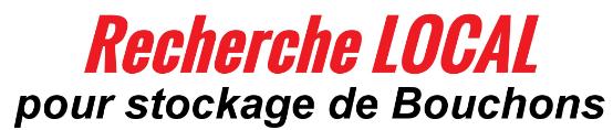 Recherche de local pour le stockage des bouchons en plastique dans toute la France